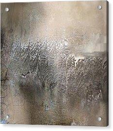 Silvery Night Acrylic Print