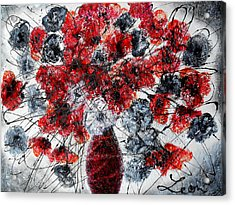 Simfoni Of Love Acrylic Print