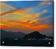 Simi Valley Outbound 1 Acrylic Print