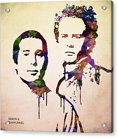 Simon And Garfunkel Acrylic Print