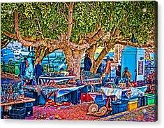 Simon's Town Market Acrylic Print