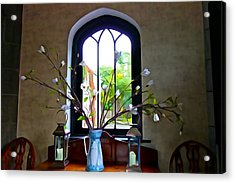 Acrylic Print featuring the photograph Simple Elegance by Charlie and Norma Brock