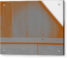 Simple Geometry - 3 Acrylic Print by Lenore Senior