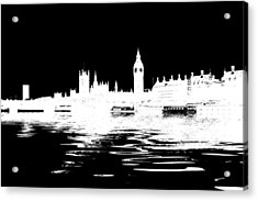Simple Politics Acrylic Print by Sharon Lisa Clarke