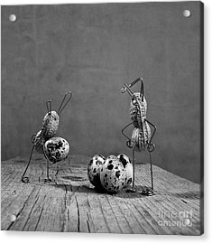 Simple Things Easter Acrylic Print by Nailia Schwarz