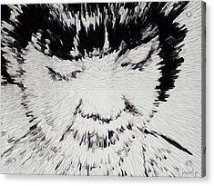 Simplicity Fast Forward Acrylic Print by Sir Josef - Social Critic -  Maha Art