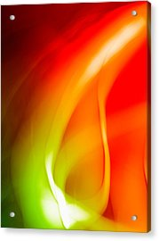 Simplicity Of Motion Acrylic Print by Tom Druin