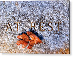 Simply At Rest Acrylic Print