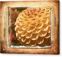 Simply Moments - Flower Art Acrylic Print