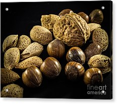 Simply Nuts Acrylic Print