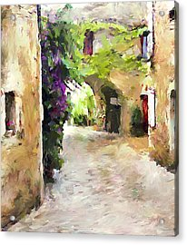 Simply Old Town Acrylic Print