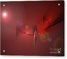 Simply Red Acrylic Print