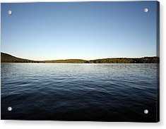 Simply Water And Sky Acrylic Print