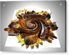 Simulated Beats 30 Acrylic Print