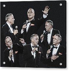 Sinatra In Concert Acrylic Print