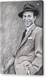 Sinatra - The Voice Acrylic Print by Eric Dee