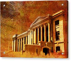 Sindh High Court Acrylic Print by Catf