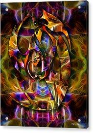 Sing Sing Sing Acrylic Print