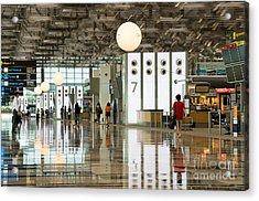 Singapore Changi Airport 02 Acrylic Print