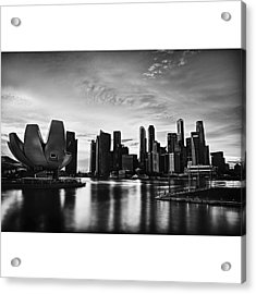 Singapore Marina Acrylic Print