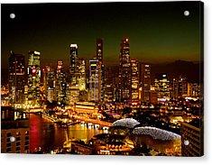 Singapore Acrylic Print