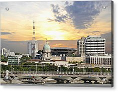 Singapore Parliament Building And Supreme Law Court  Acrylic Print by David Gn