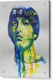 Rapper  Eminem Acrylic Print