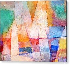 Singing Colors Acrylic Print by Lutz Baar