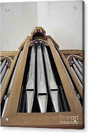 Singing Pipes Acrylic Print