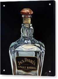 Single Barrel Jack Daniel's Acrylic Print