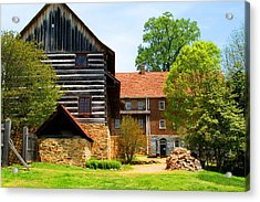 Single Brothers House Acrylic Print by Kathryn Meyer