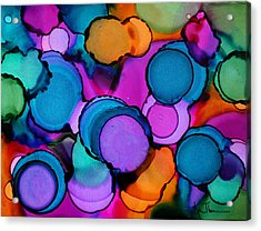 Single Touch Acrylic Print by Kim Thompson
