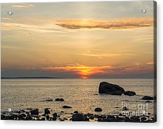 Sinking Beneath The Horizon Acrylic Print