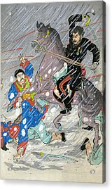 Sino Japanese War, C1895 Acrylic Print