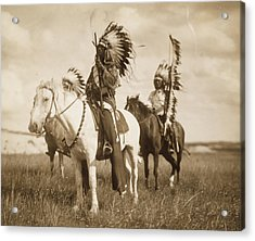 Sioux Chiefs  Acrylic Print by Unknown