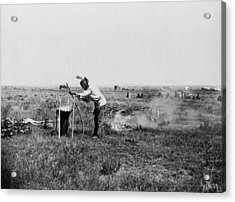 Sioux Cooking, C1911 Acrylic Print