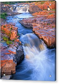 Sioux Falls Acrylic Print by Ray Mathis
