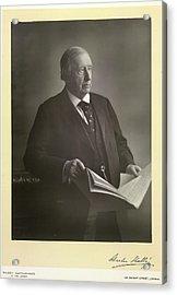Sir Charles Halle Acrylic Print