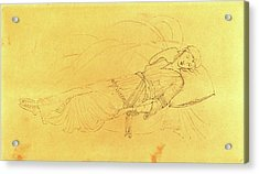 Sir Edward Coley Burne-jones, British 1833-1898 Acrylic Print