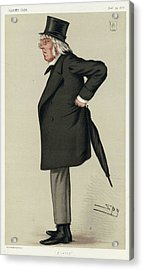 Sir Francis Hastings  Charles Doyle Acrylic Print by Mary Evans Picture Library
