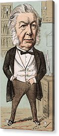 Sir John Elphinstone  Statesman Acrylic Print by Mary Evans Picture Library
