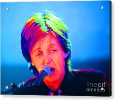 Sir Paul Glowing Acrylic Print