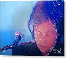 Sir Paul W Rapped Acrylic Print by Tina M Wenger
