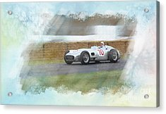 Sir Stirling Moss Acrylic Print
