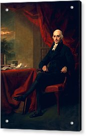 Sir William Miller, Lord Glenlee Acrylic Print by Sir Henry Raeburn