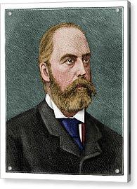 Sir William Palliser Acrylic Print