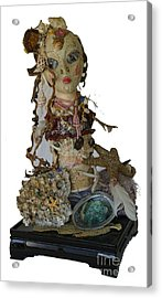 Acrylic Print featuring the sculpture Siren by Avonelle Kelsey