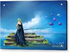 Sirens Lure Acrylic Print by S G