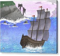 Sirens Acrylic Print by Steve Dininno