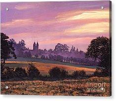Sissinghurst Castle Sunset Acrylic Print by David Lloyd Glover